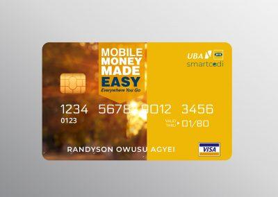 Cedi Card MTN UBA 5f