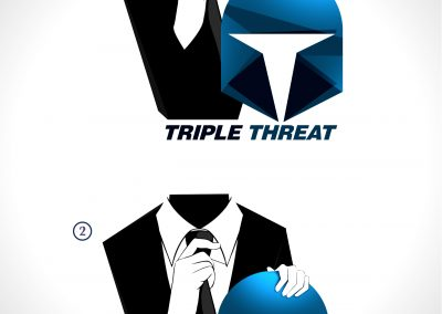 Triple Threat FnL Logo